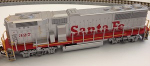 ATSF GP60B. - Courtesy Fox Valley Models
