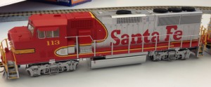 Fox Valley Models announced at the National Train Show in Cleveland on Friday new production of an HO-scale GP60M diesel locomotive. Above is a pre-production model. - Courtesty Fox Valley Models.