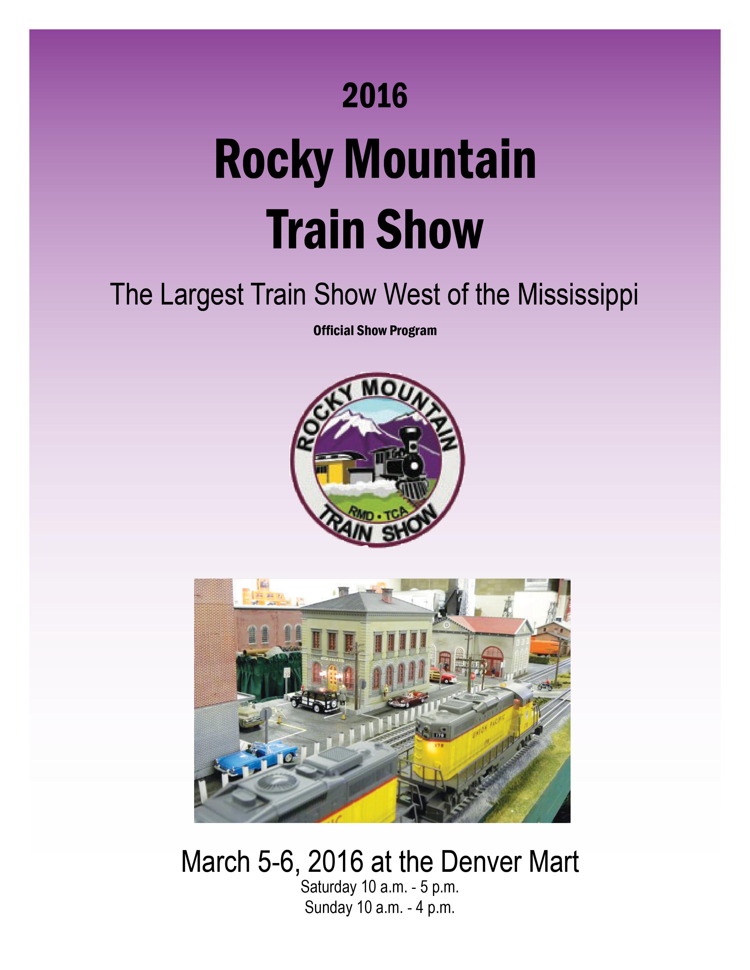 Image result for denver train mart show